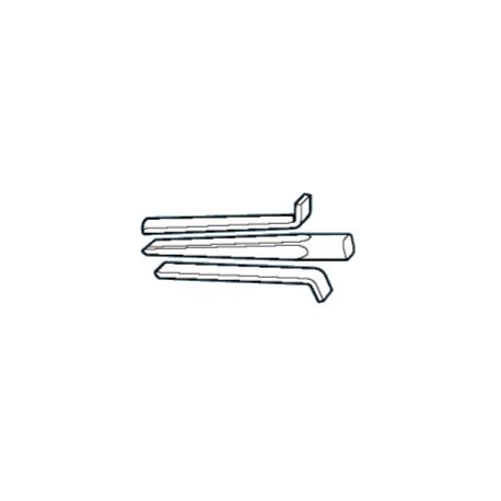 Klin i rozpieraki do otworów o średnicy 20-22mm