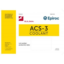 ACS-3 Coolant for grinding machines 1L